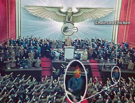 Hitler at the Reichstag
