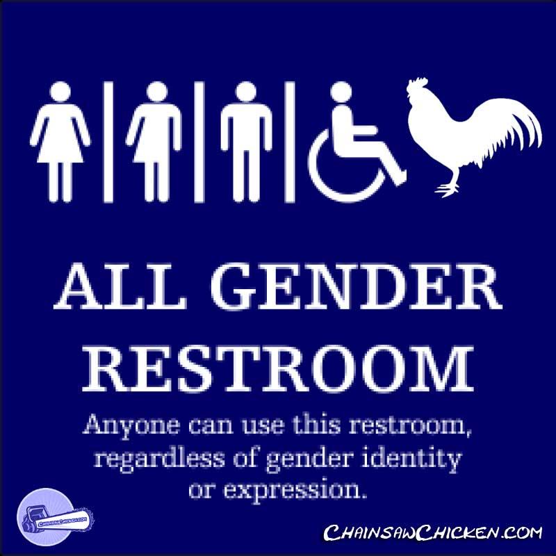 An All Gender Bathroom