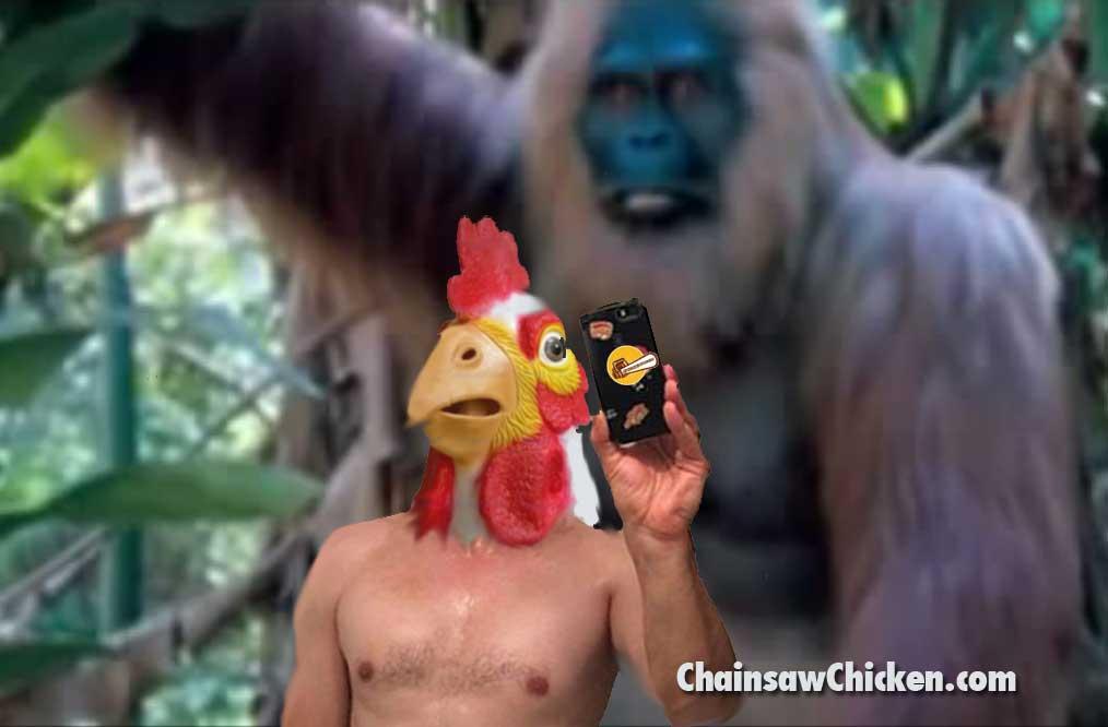 Gigantopithecus Selfie