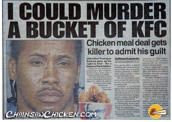 Bucket of MURDERER