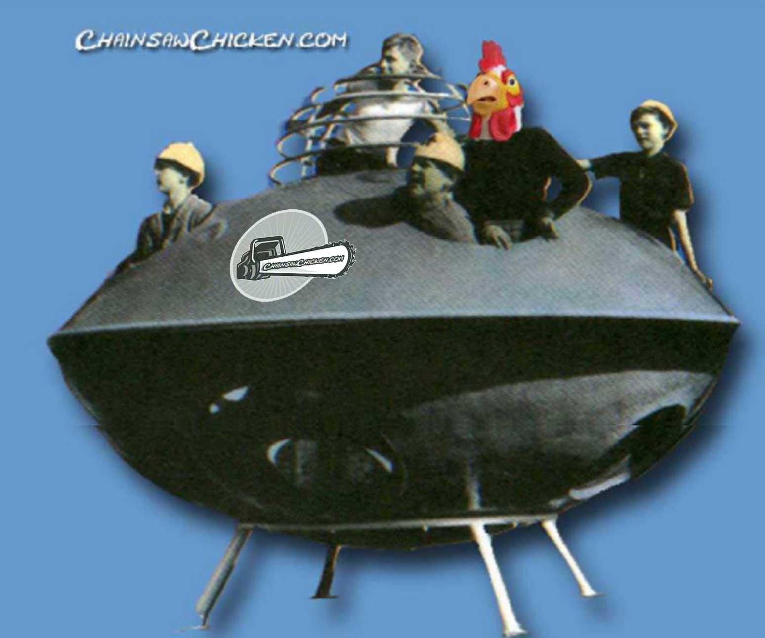 Chicken Steals UFO
