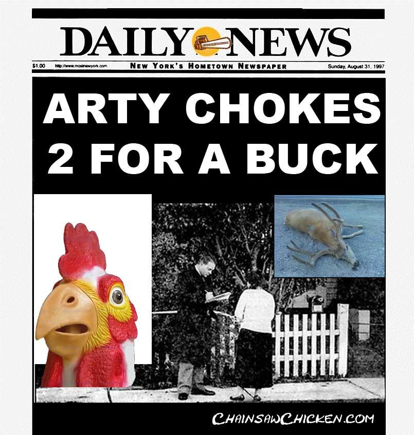 Arty Chicken, Spy Killer