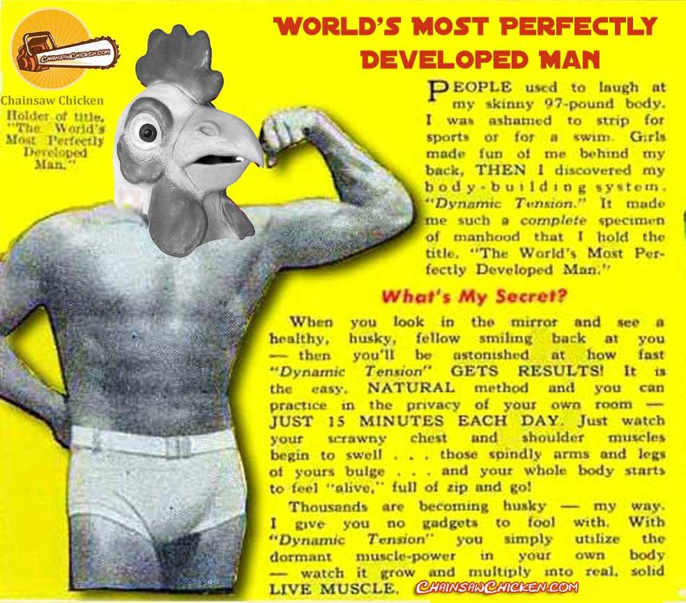 'Chuck Atlas' Chicken