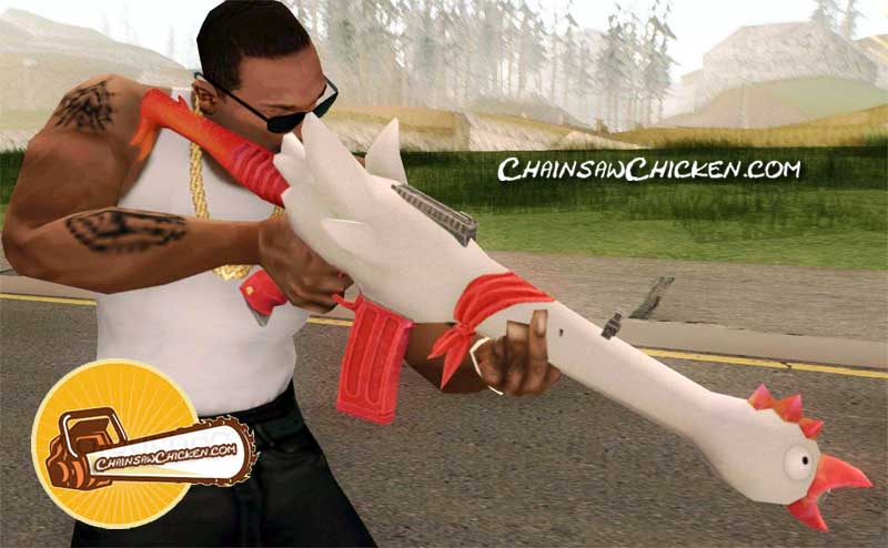 Lethal Chicken Gun
