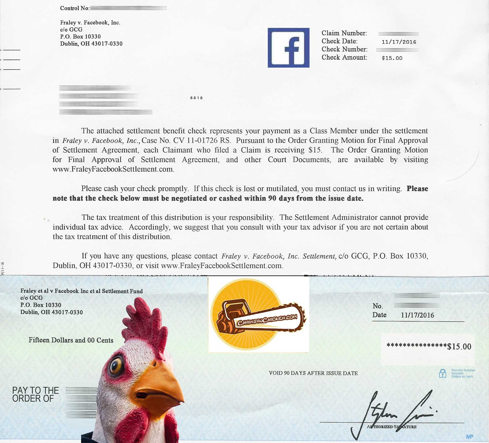 Facebook Had to PAY ME!