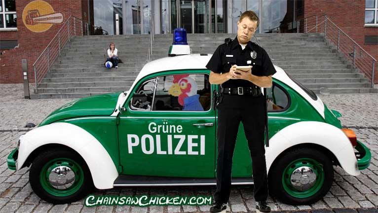 Grüne Polizei