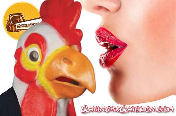 """CDC """"Don't Kiss Chickens"""""""