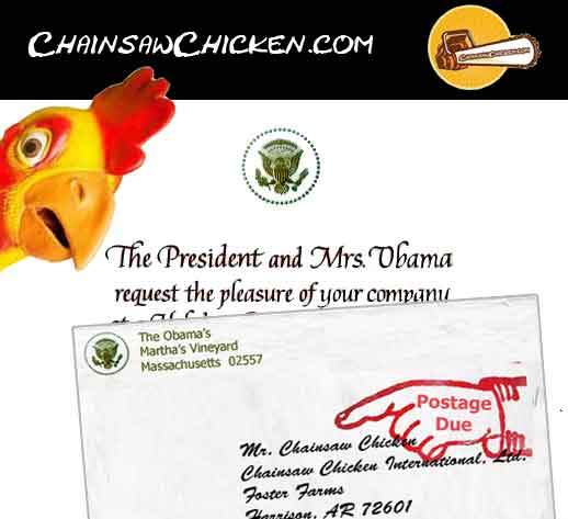My Obama B-day Invite