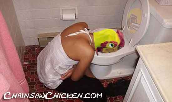 The Mrs. had a tough night